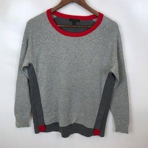 J.Crew medium weight crew neck sweater